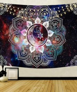 Wandbehang Galaxie Mandala