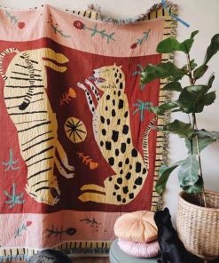 Bohemian Woven Wandbehang