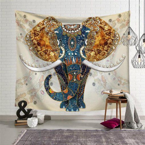 Wandbehang Elefant der Vorfahren